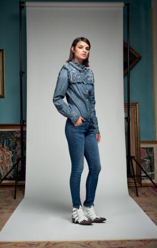 2017 Con Rose inverno Camicia Applicazioni Collezione Denny Aut 721dd40000 Art zOqBxBEPw