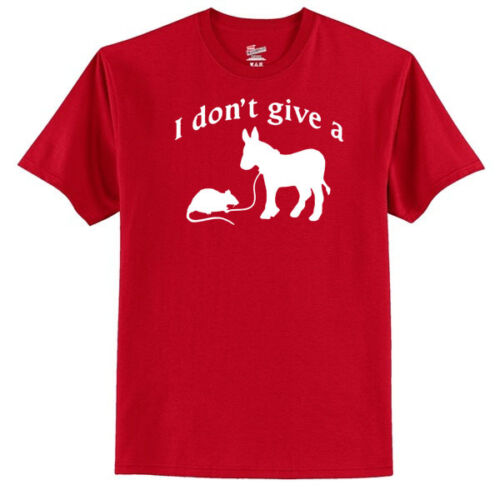Humor - - Laugh I Don/'t Give A Rats Ass Men/'s T-Shirt Funny Novelty - --