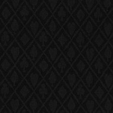 10FT X 5FT Black Suited Speed Cloth Poker Table Felt 100% Polyester NEW