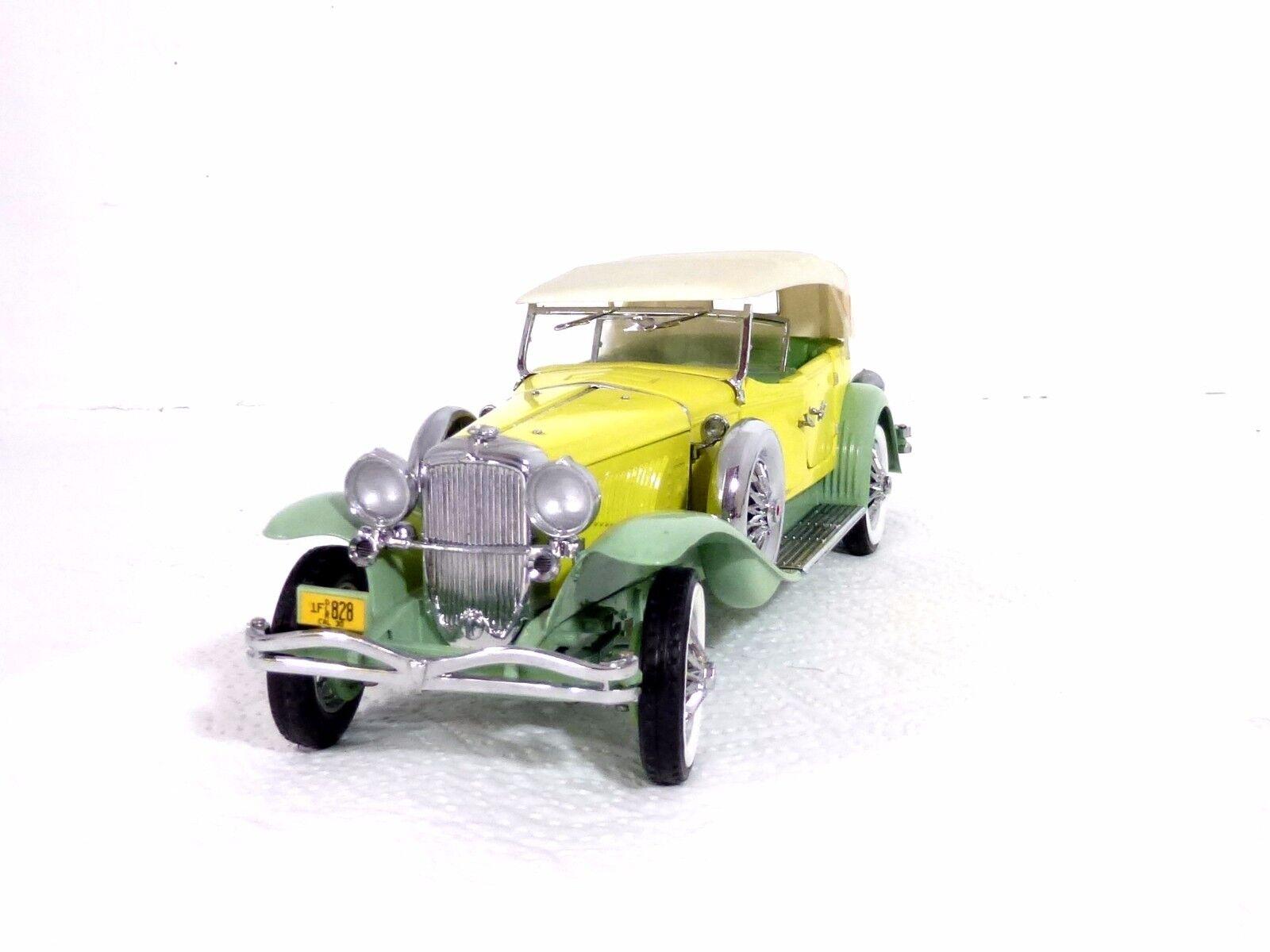 Franklin Mint Düsenberg Derham Tourster 1930 1 24 unbespielt Top