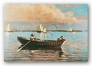 Gloucester Harbor  by Winslow Homer  Giclee Canvas Print Repro