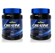 2 BOTES DE  CREATINA BIG MAN 500gr total 1 kg Creatine Monohidrato Micronizada