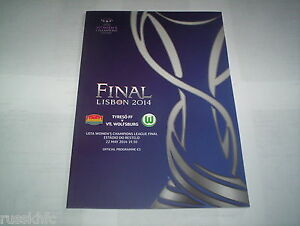 2014-UEFA-WOMENS-CHAMPIONS-LEAGUE-FINAL-TYRESO-V-WOLFSBURG-OFFICIAL-PROGRAMME