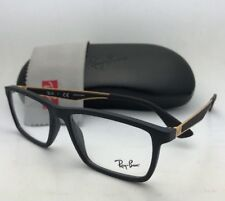 9400086bc2 item 1 New RAY-BAN Rx-able Eyeglasses RB 7056 5644 55-17 145 Black   Gold  Frames -New RAY-BAN Rx-able Eyeglasses RB 7056 5644 55-17 145 Black   Gold  Frames