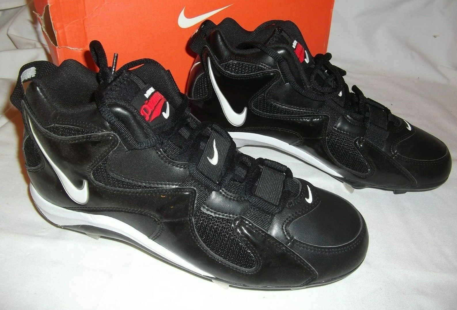 NIKE '95 DIAMOND FURY RETRO MENS BASEBALL SOFTBALL CLEATS NEW SIZE 9