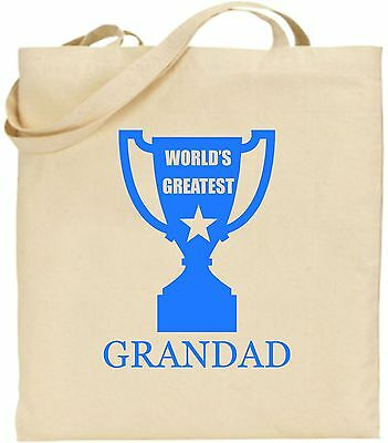 Weltweit Größte Opa Groß Baumwolltasche Einkaufstasche Vatertag Weihnachten