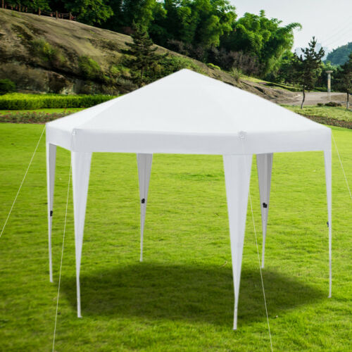 3Mx3M Heavy Duty Gazebo Pop Up Marquee Tent Awning Outdoor Party BBQ Wedding UK