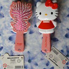 Déstockage Hello Kitty Brosse à cheveux Petits pois 15cm Neuf