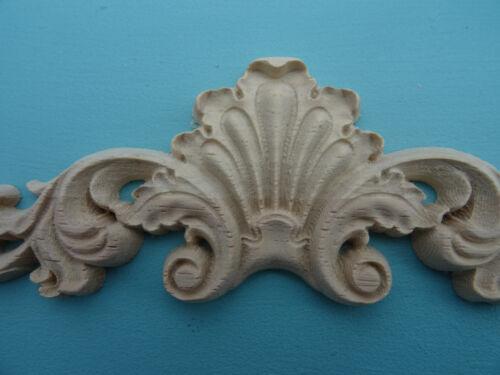 CARCASA de madera decorativa /& Centro de desplazamiento Apliques Muebles moldeo Onlay W38
