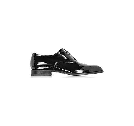 Fratelli Rossetti Chaussure Brevet Noir avec Pointe Ronde (79fru)