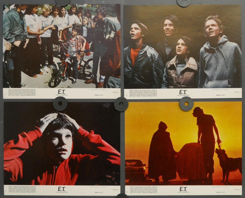 E.T.Extra-Terrestrial 1982 Original 8X10 Lobby Karte Set Drew Barrymore
