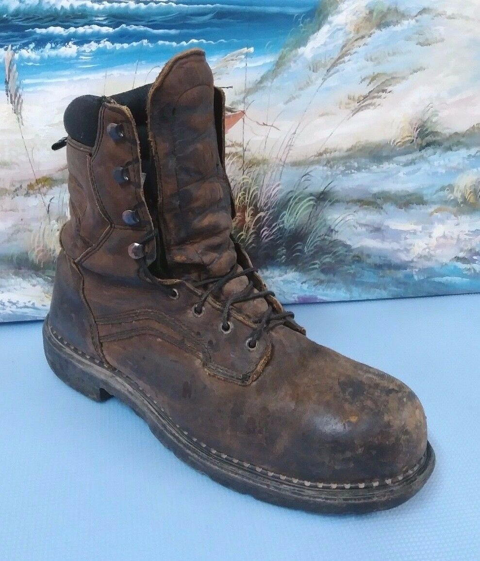 Red Wing 4414 Steel Toe Waterproof Work Boots USA MADE Sz 13 D