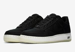 Details about Nike Air Force 1 Low Retro QS Canvas Black AF1 Men's Shoes AH1067 004 Size 11.5