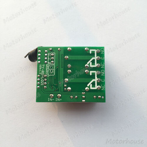 DC 12V 2CH Channel Wireless RF Remote Control Switch Module Transmitter Receiver