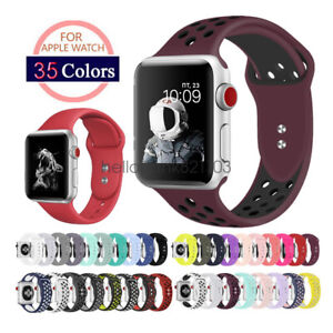 Replacement-Silicone-Sport-Watch-Band-Strap-For-Apple-Watch-44mm-40mm-42mm-38mm