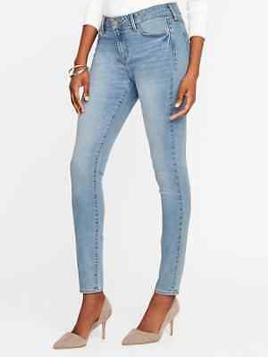 Womens Old Navy Rockstar 24//7 stretch jeans light wash size 4 NWT $40 price