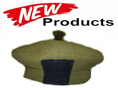 CAP TAM O SHANTER SCOTLAND ROYAL REGIMENT BRITISH ARMY ISSUE ALL SIZES CP MADE