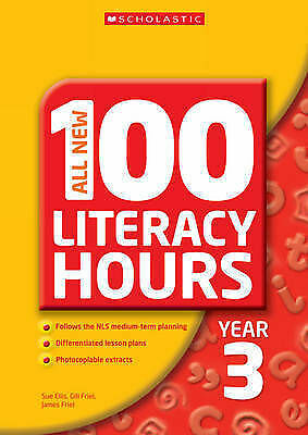 1 of 1 - All New 100 Literacy Hours Year 3 (All New 100 Literacy Hours), Webster, Chris,