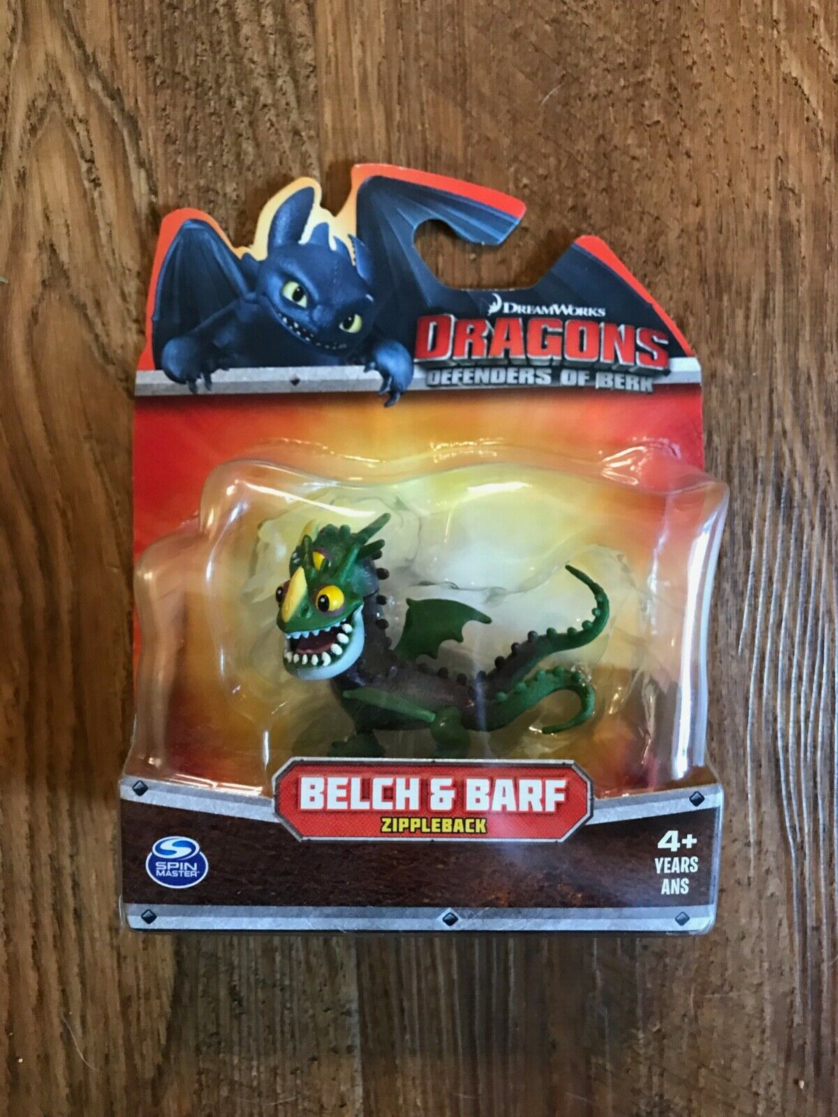 How to Train your Dragon - Defenders of Berk - Barf & Belch - Small Figure