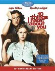 10 Things I Hate About You Blu-ray 1999 Heath Ledger 10th Anniversary Ed