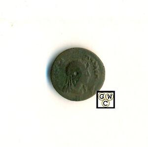 Greek-Kyrene-Under-Ptolmey-Ptolmey-I-Rev-Libya-AE-18mm-F-VF