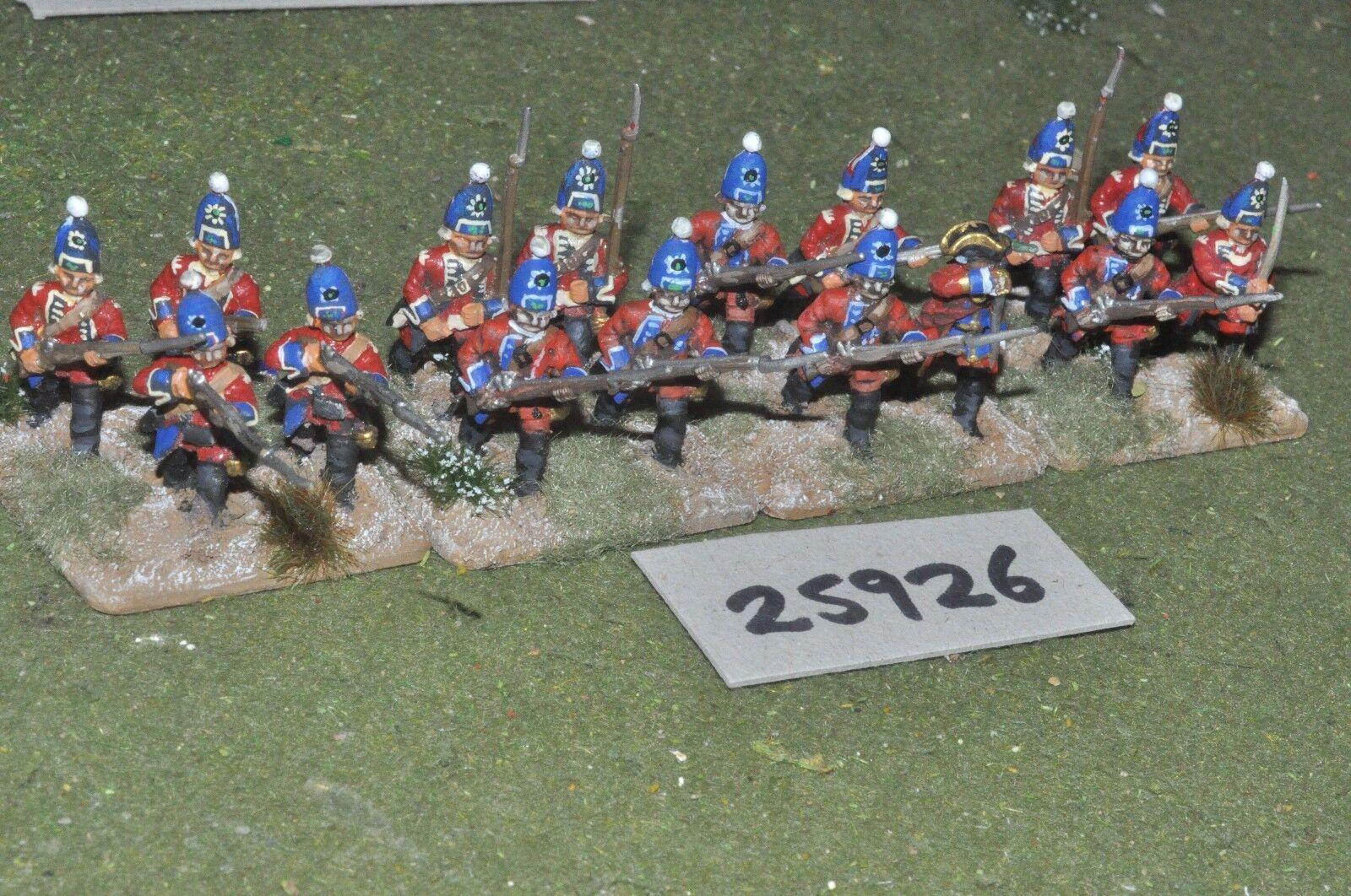 25 mm 7yw   british - regt.16 zahlen - inf (25926)