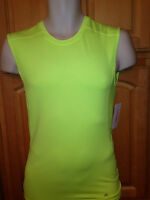Xersion Performance Men's Vivid Yellow Tank Top, Size Small, 100% Polyester