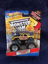 Monster Jam WRECKING CREW 1:64 Truck Hot Wheels Topps Trading Card Series NM