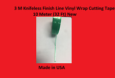 3M Knifeless Finish Line Vinyl Wrap Cutting Tape 10 Meter (32 Ft) New