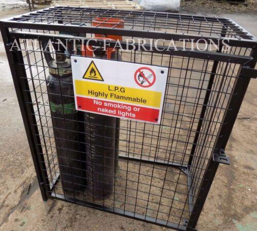 2 x Propane 19kg Gas cage Bottle cylinder storage   870 h x 800 w x 400d