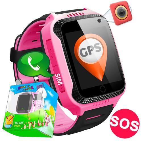 Relojes para Niño Inteligente cámara de Podómetro con Pantalla Táctil GPS