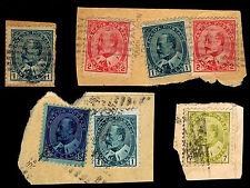 1903-08 CANADA #89-92 - KING EDWARD VII PIECES - USED - F/VF+ - CV$9.25 (E#1970)