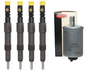 4-X-Einspritzduese-Injektor-Ford-Mondeo-2-0-TDCI-EURO4-4S7Q9K546BD-EJDR00504Z