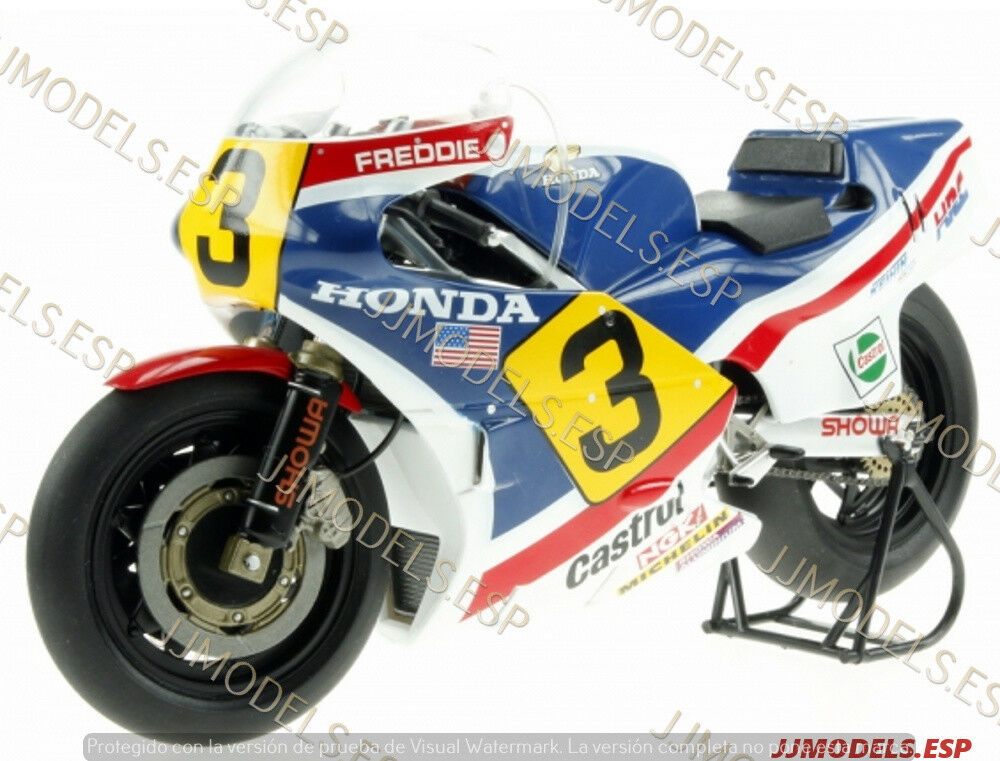 ♠SOLD OUT&RARE   IXO HONDA NS500  3 FrossoDIE SPENCER 1983 GP500 WORLD CHAMP-1 12