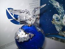 SWAROVSKI MILLENIUM EDITION 2000 CRYSTAL PLANET KRISTAL GLOBE 238985 AP 2000 NEU