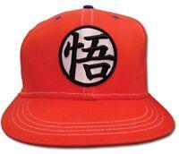 Dragonball Z Goku Symbol Dbz Anime Licensed Snapback Cap Baseball Hat on sale