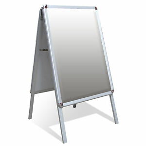 Image Is Loading A1 A Board Pavement Sign Poster Snap Frame