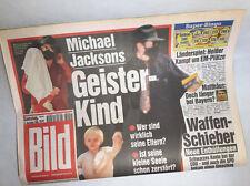Bildzeitung vom 13.11.1999 * 17. 18. 19. 20. Geburtstag Geschenk Michael Jackson