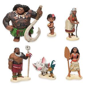 Disney Moana Vaiana Pua Hei Figuras Plastico Juguetes Toppers Tartas - Decoracion-figuras