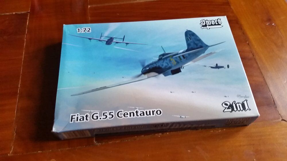 Sword Fiat G 55 2 kit in scatola 1 72 Regia Aeronautica