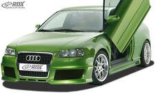 "RDX Stoßstange Audi A3 8L ""Single Frame 2"" Front Schürze Vorne Spoiler"