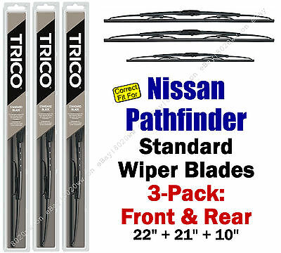 30221//210 Jeep Grand Cherokee Wipers 2-Pack Standard fit 2011