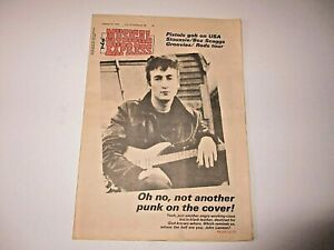 JOHN-LENNON-NME-New-Musical-Express-January-14-1978-RUSH-Siouxsie-SEX-PISTOLS
