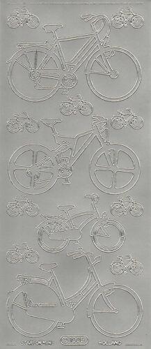 Starform Outline Stickers N° 1005 Vélo Bike Auto-collants Peel offs