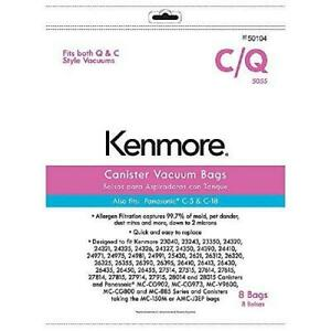 Kenmore-50104-8-Pack-Style-C-Q-Canister-Vacuum-Bags