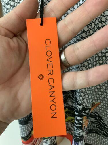 Clover Canyon Nouveau Chemisier Top sans manches Taille S UK 8  10 BNWTs RRP £ 185