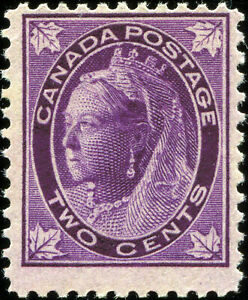 Canada-Scott-68-Queen-Victoria-Maple-Leaf-Issue-MLH-OG-19140