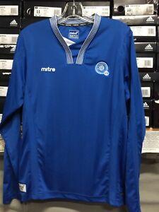c6d2ab2ea4a Mitre El Salvador Home Jersey Long Sleeve Camisa De El Salvador Size ...