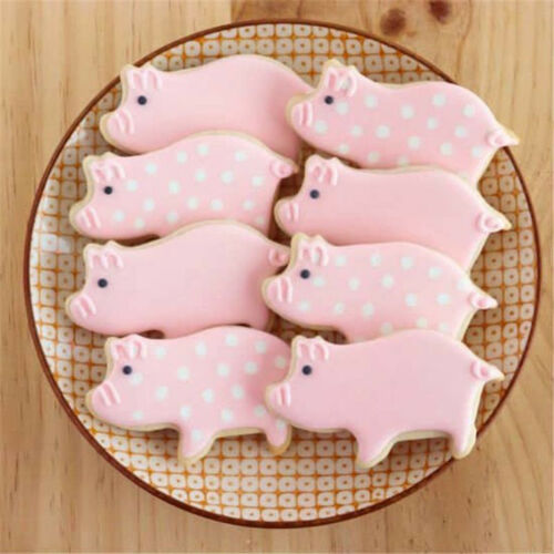 Pig Piglet Farm Animal Cookie Biscuit Fondant Pastry Cake Stainless Steel Cutter
