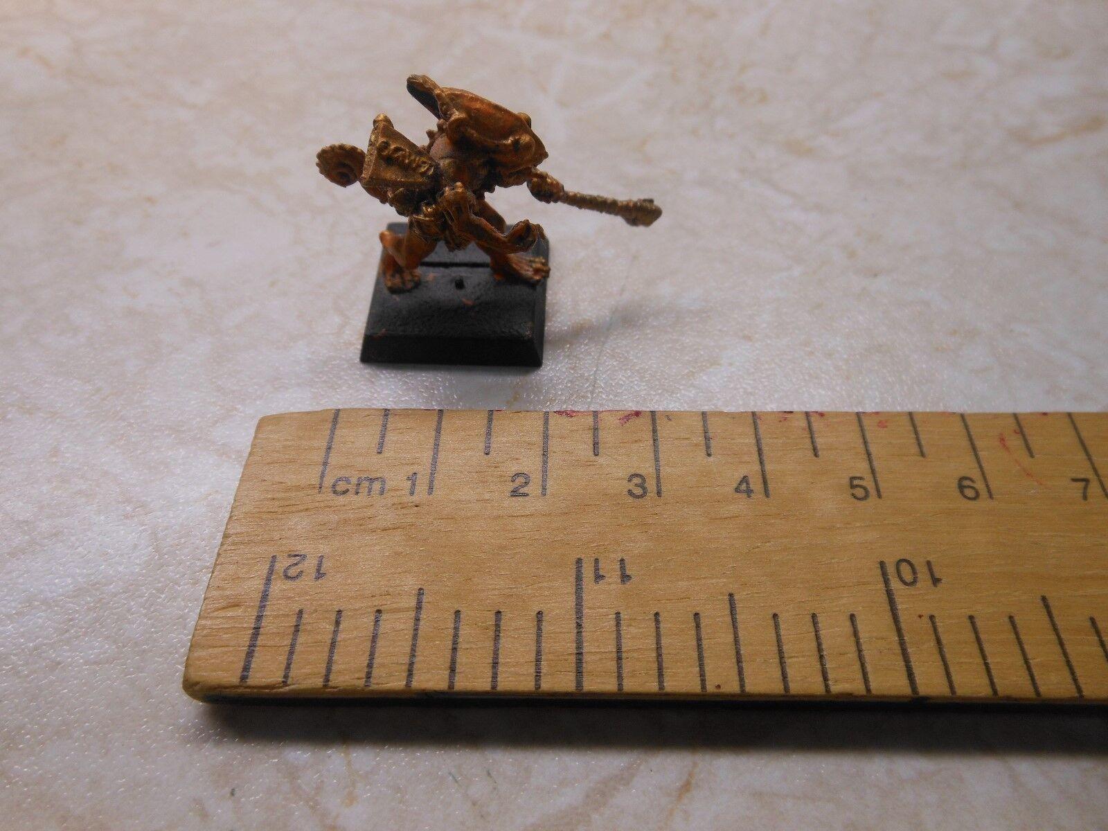 Warhammer Rare Matal Lizardman Oxyotl - Pre Owned